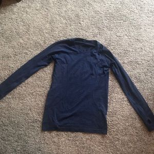 Swiftly Tech Long Sleeve Blue Size 10